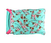 I Don't Do Mornings Moose Pillow Case - Lazy One®